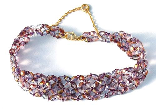 Bracelet Violine/or, Autres Bijoux en perles, Schémas (gratuits)